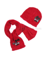 Deux par Deux Red Hat and Scarf Dog Story