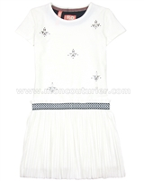 Dress Like Flo Dress with Plisse Bottom