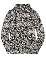 Dress Like Flo Turtleneck in Cheetah Print