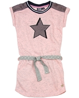 Dress Like Flo Sweatshirt Dress with Star,