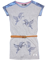 Dress Like Flo Dress with Birds