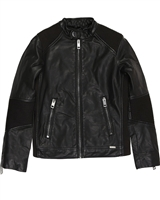 Diesel Boys Pleather Jacket Jerex