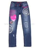 Desigual Denim Pants Pascal
