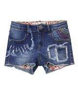 Desigual Denim Shorts Abad