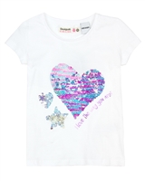 Desigual T-shirt Katrina in White