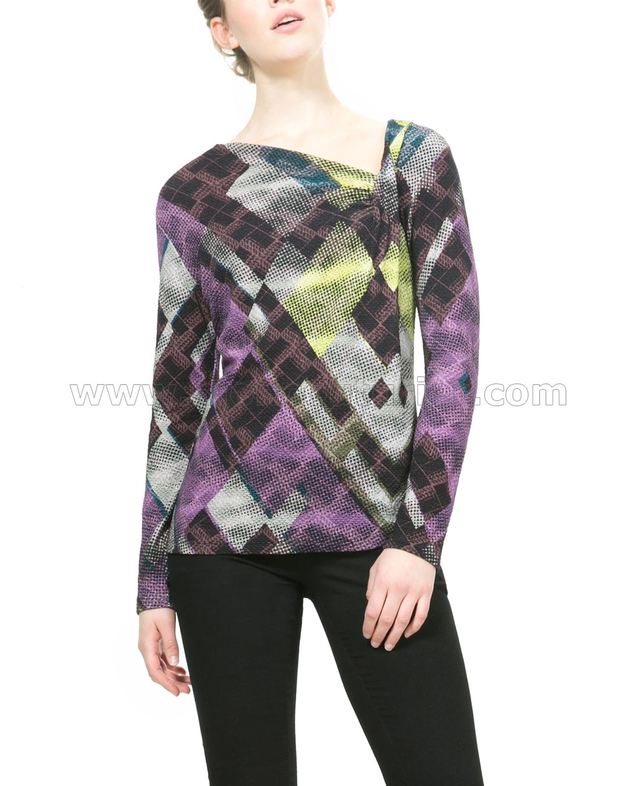 desigual womens 39 t shirt margarita. Black Bedroom Furniture Sets. Home Design Ideas