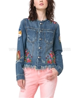 Desigual Womens' Denim Jacket Noucol