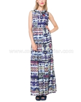 Desigual Women's Maxi Dress Serpens