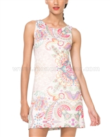 Desigual Women's Dress Lagrima Valkiria