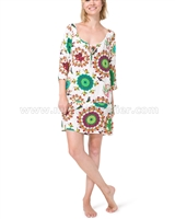 Desigual Women's Swim Cover-up Top Kaftan Gala