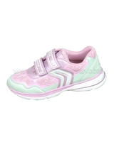 GEOX Girls' Sneakers Jr Top Fly Pink