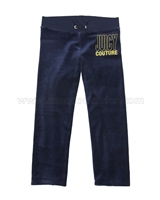 Juicy Couture Velour Pants with Star Print