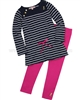 Juicy Couture Breton Tunic and Leggings Se