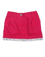 JoJo Maman Bebe Twill Mini Skirt
