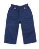 JoJo Maman Bebe Linen Mix Pants Navy