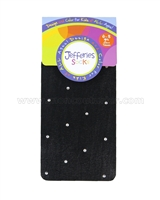Jefferies Socks Dress Up Tights Black/Diamond