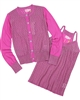 Kidz Art Ajour Knit Cardigan and Top Twin Set