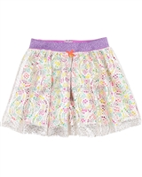 Kidz Art Skirt with Laced Overlay
