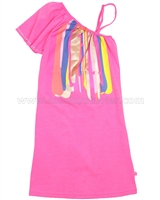 Kidz Art One-shoulder Strap Dress