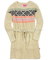 Kidz Art Knit Dress with Belt
