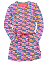 Kidz Art Multicoloured Jersey Dress