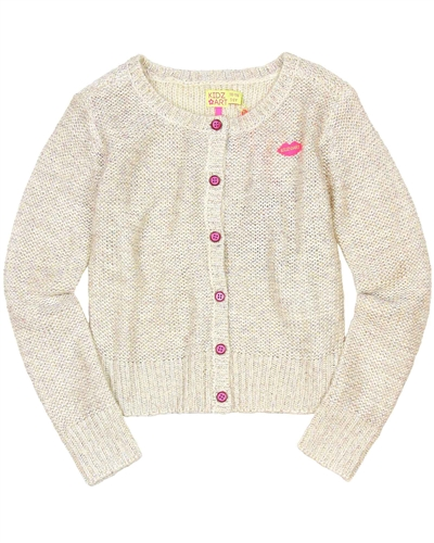 Kidz Art Gold Knit Cardigan