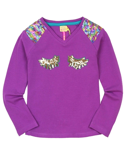 Kidz Art Top with Sequins