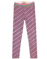 Kidz Art Diagonal Stripe Leggings