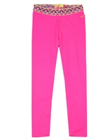 Kidz Art Pink Solid Legging