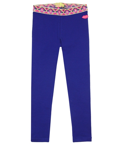Kidz Art Blue Solid Legging