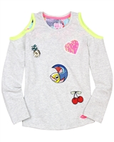 Kidz Art Top with Open Shoulders