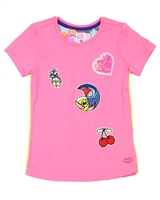 Kidz Art T-shirt with Badges
