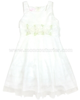 Biscotti Girls Wedding Belles Satin Dress