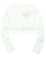 Biscotti Girls Knit Cardigan Wedding Belles