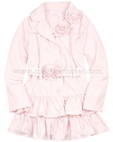 Biscotti Girls Trench Coat Pink