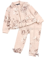 Kate Mack Royal Shimmer Jogging Suit