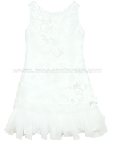 Biscotti Girls Ivory Dress Butterfly Waltz