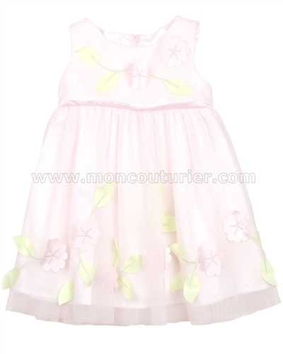Biscotti Girls Ballerina Dress Flower Blossoms