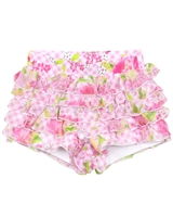 Kate Mack Ruffled Shorts Gingham Garland