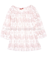 Kate Mack Lace Cover-up Dainty Daisies