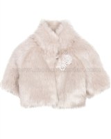 Biscotti Wishful Thinking Faux Fur Jacket