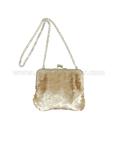 Biscotti Grand Entrance Purse Gold