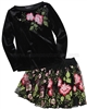 Biscotti Midnight Garden Top and Skirt Set