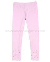 Kate Mack Pretty Kitty Leggings Pink