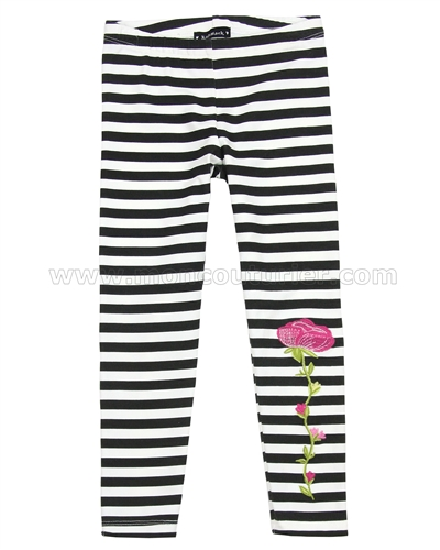 Kate Mack Taking Fight Striped Leggings