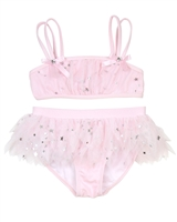 Kate Mack Girls' Skirted Bikini Fairy Dance Pink