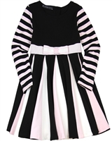 Biscotti Modern Beauty Striped Dress