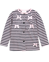 Le Chic Baby Girl Striped Jersey Cardigan