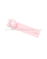 Le Chic Baby Girl Jersey Headband Pink