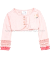 Le Chic Baby Girl Bolero with Ruffles